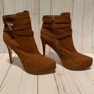 Carmen Steffens Boots Cappuccino Stiletto Size 11